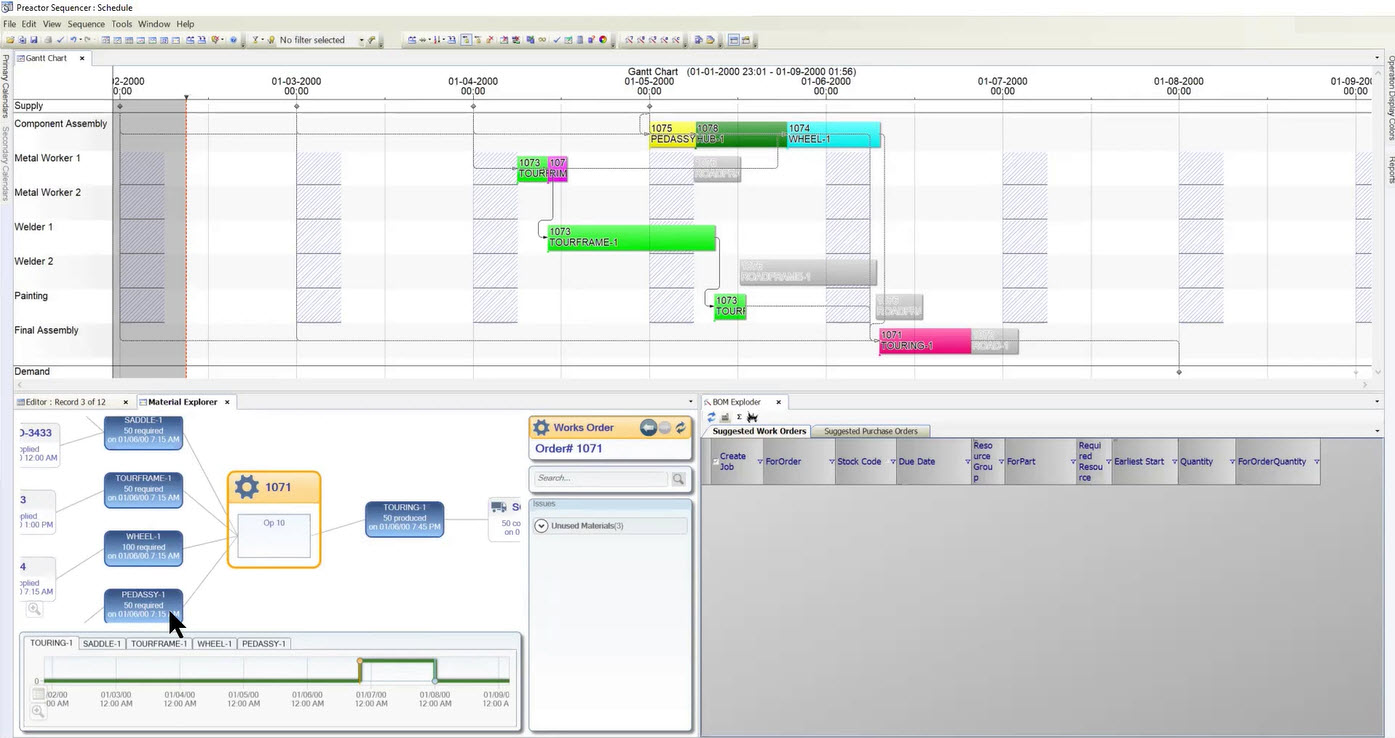 Best Production Manufacturing Planning & Scheduling Software Solution
